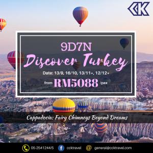 9D Turkey Cappadocia