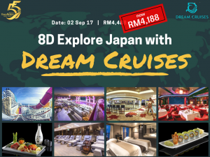 promo dream cruises