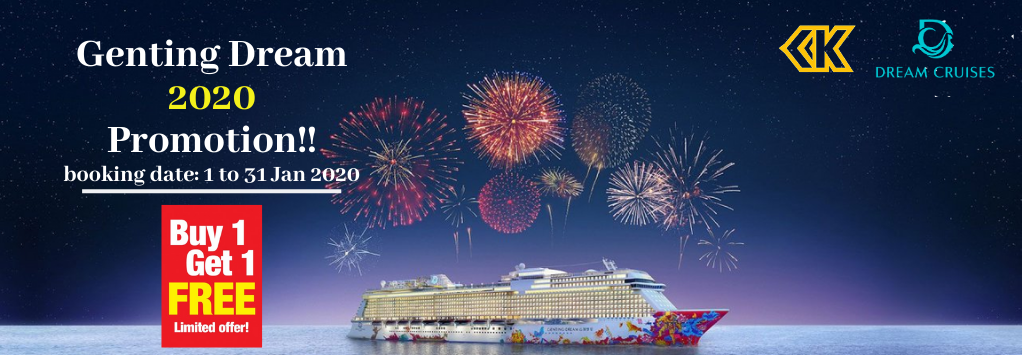 Genting Dream 2020 Promotion!! booking date_1-31 Jan